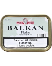 SAMUEL GAWITH BALKAN FLAKE TINS  50G
