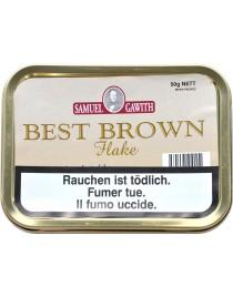 SAMUEL GAWITH BEST BROWN FLAKE TINS 50G