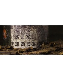 GREGORY PEASE SIXPENCE 57G